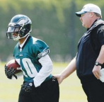Andy Reid Explains Desean Jackson Benching